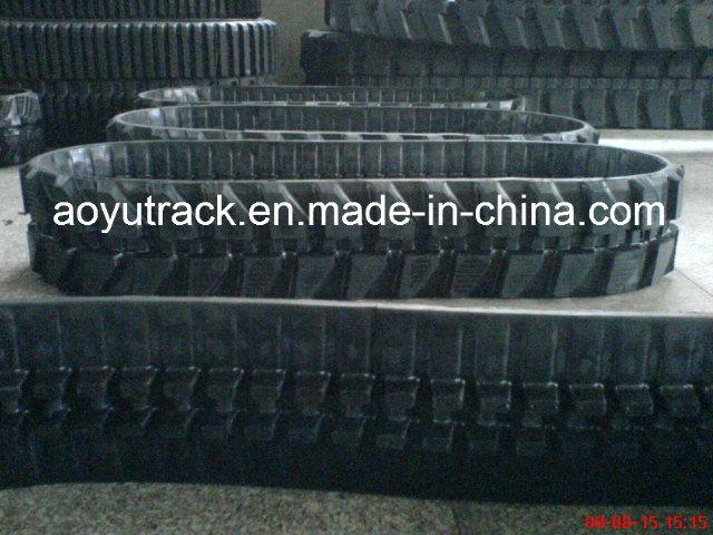 Mini Excavator Rubber Track Size 300 X 109n X 35
