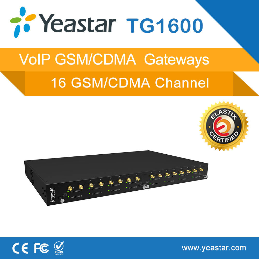 16 Channels GSM CDMA VoIP Gateway Support SMS Bulk Sending