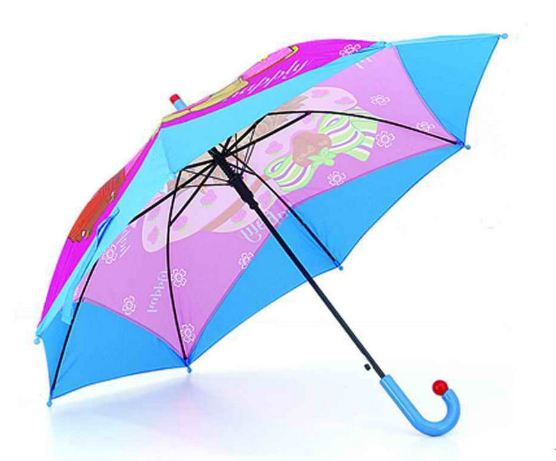 Straight Cartoon Printing Children Umbrella