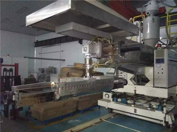 Second Hand T Die Co-Extrusion CPP / CPE Clear Film Machinery