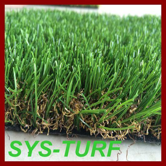 U Shape Landscaping Decoration Artificial Grass for Garden