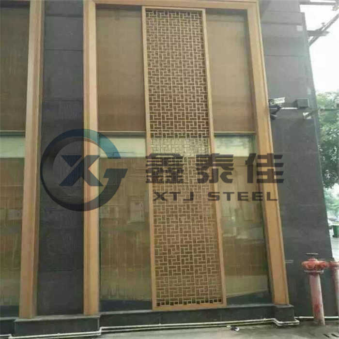 Made in China Exterior Wall for High-Grade Decorative Metal Wall Panel