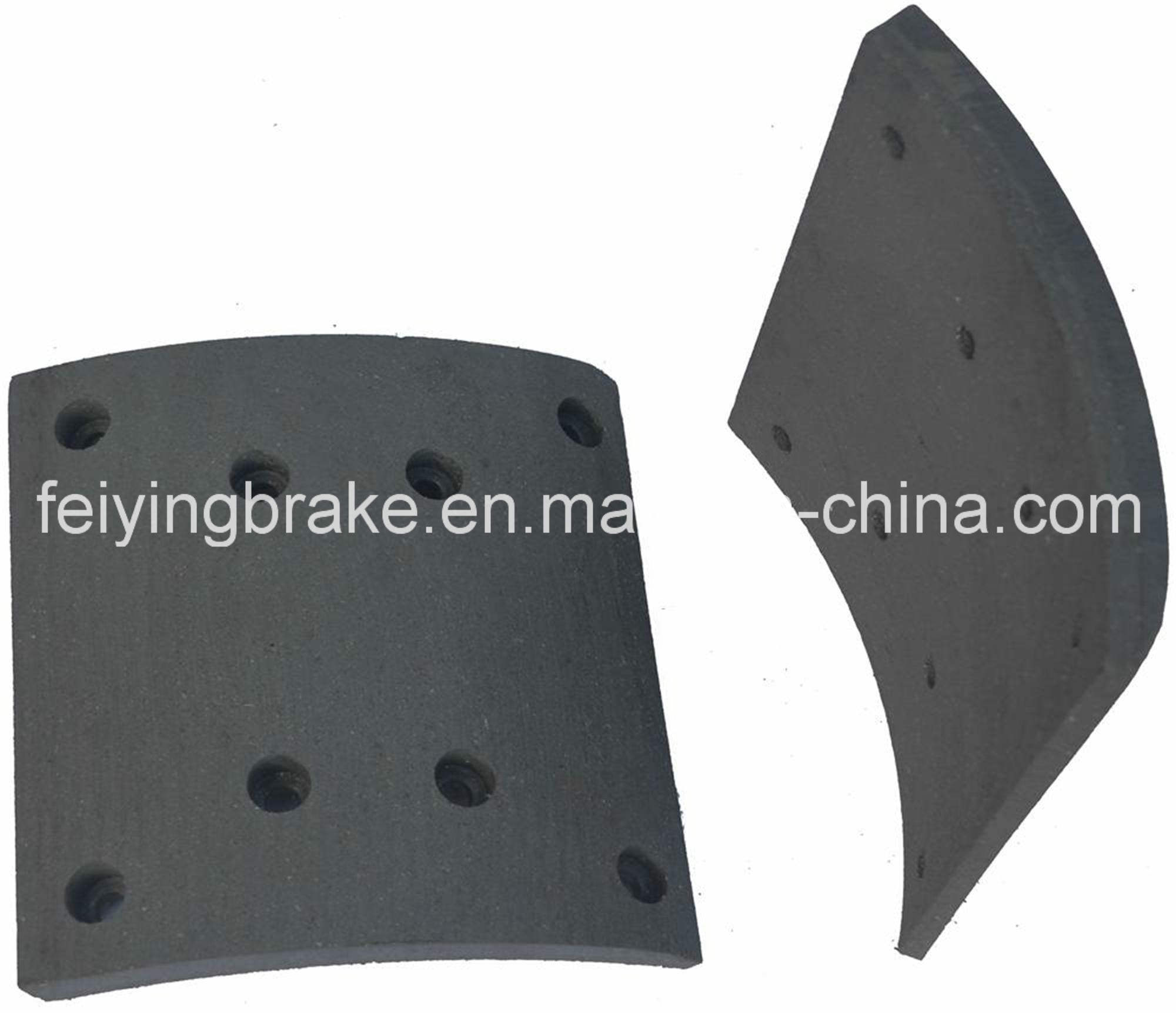 Brake Lining for European Truck (WVA: 19487, BFMC: MP/32/1)
