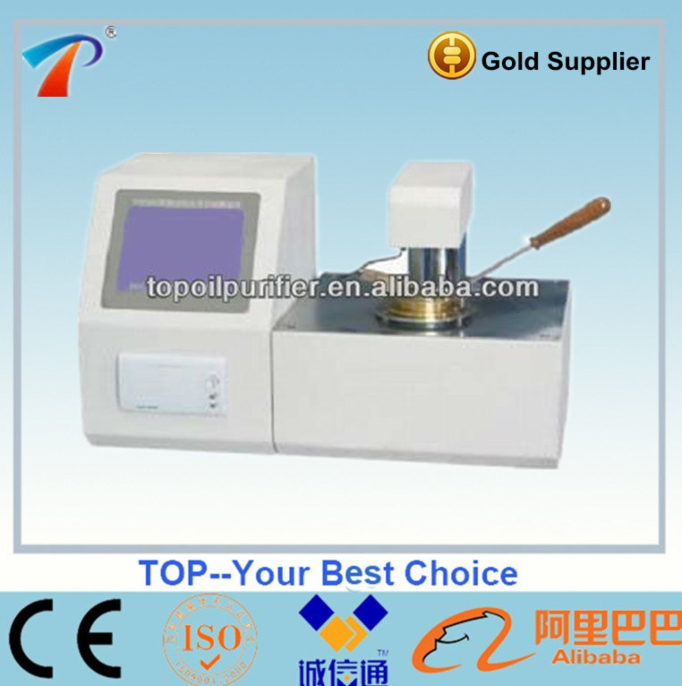 Fully Automatic Closed Cup Flash Point Test Equipment (TPC-3000)