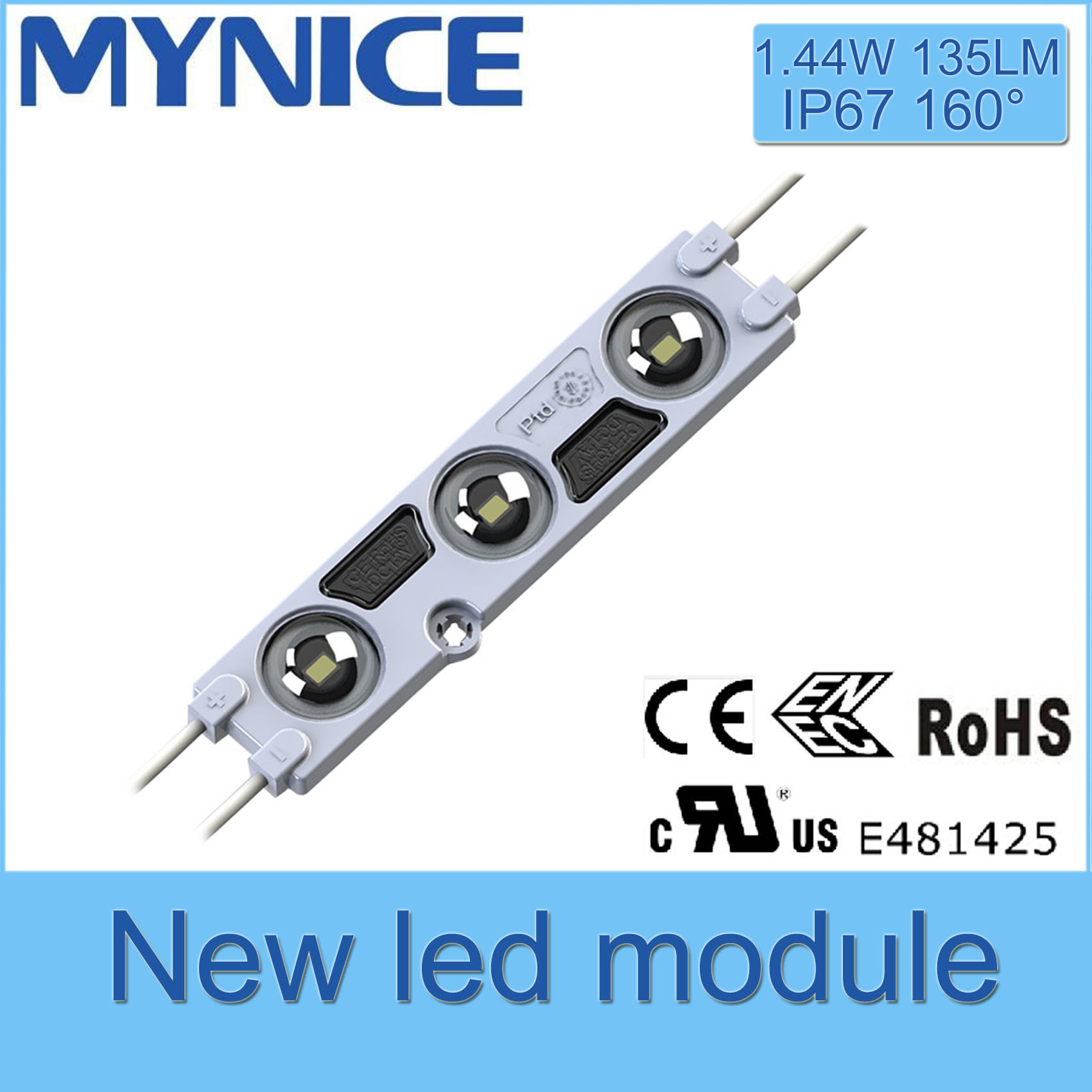 2835 / 5730 Backlighting Injection LED Module with Five Years Guarantee and UL Ce RoHS Certificate