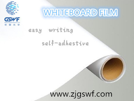Dry Erase Stick on White Board Glossy Whiteboard (WF103A)