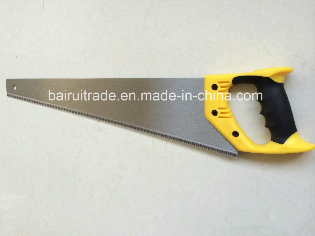 China Garden Hand Saw With 65mn Carbon Steel Sharptooth   China Saw, Band  Saw