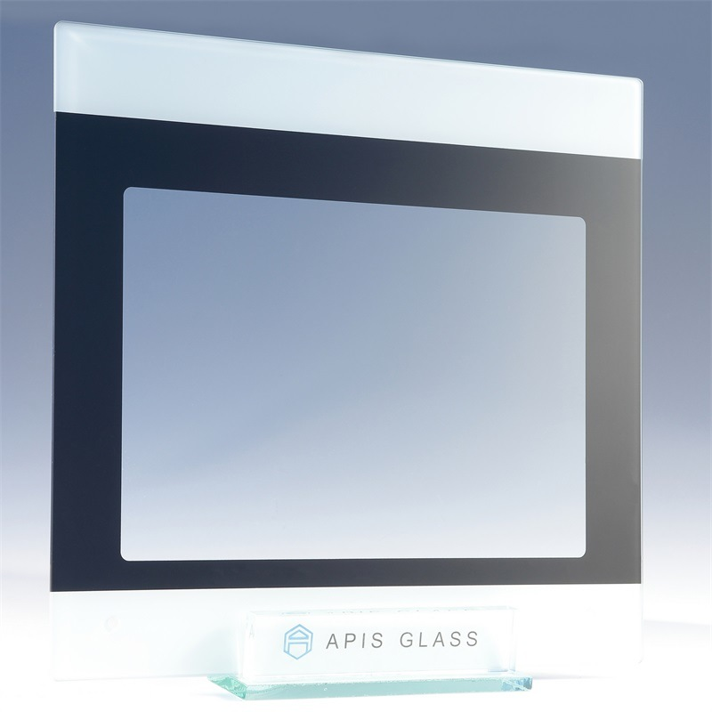 AG /Clear Silk Screen Printing/Painted/Printed Frame Tempered/Toughened Glass for Home Appliance
