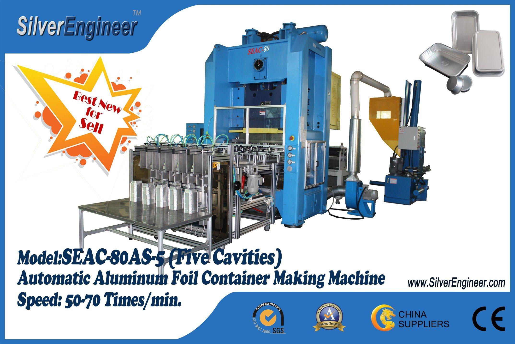 Real Automatic Aluminum Foil Container Production Line
