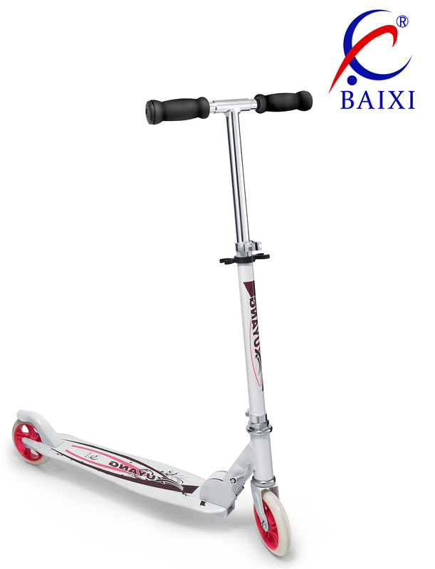 2 Wheel Stunt Plastic Adult Kick Scooter (BX-2MBC125)