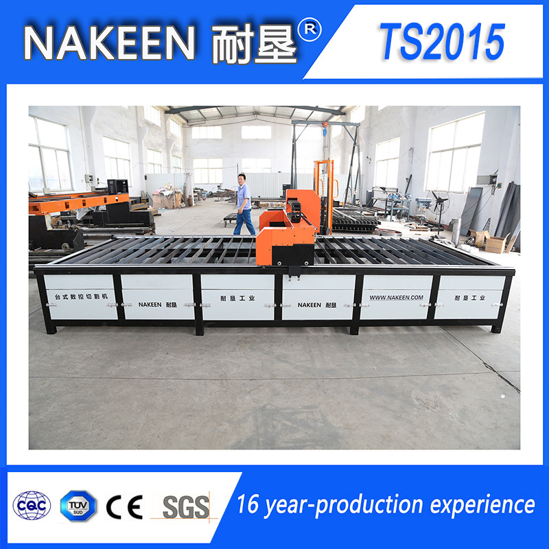 Bench CNC Plasma Cutting Machine for Thin Metal Sheet