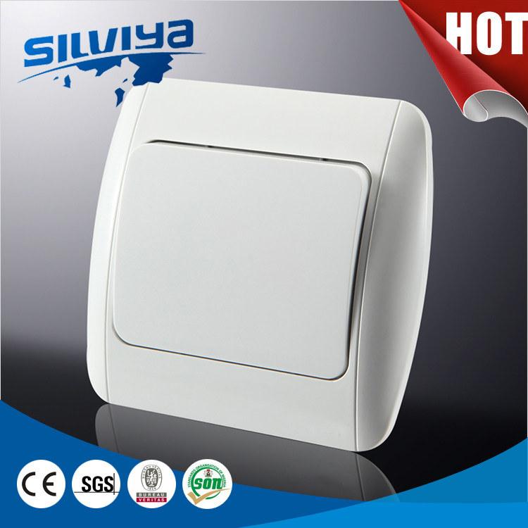 European 1gang 1way Wall Switch