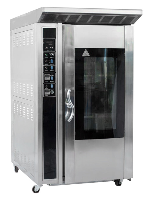 Ykz-12 Bakery Electric and Gas Rack 12 Trays Oven From China for Sale