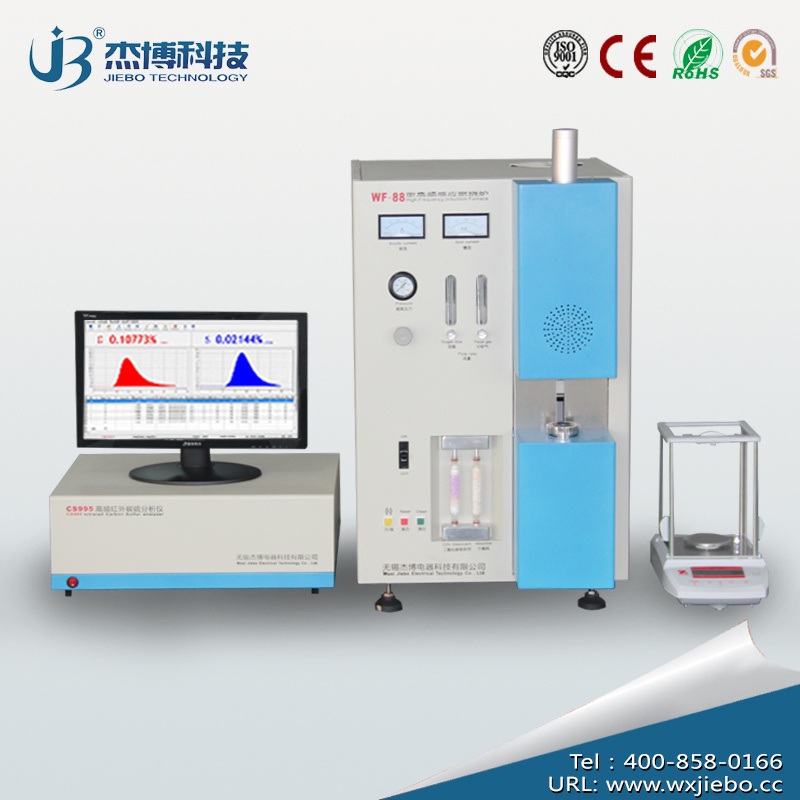 High-Precision Carbon Sulphur Analyzer Similar with Leco