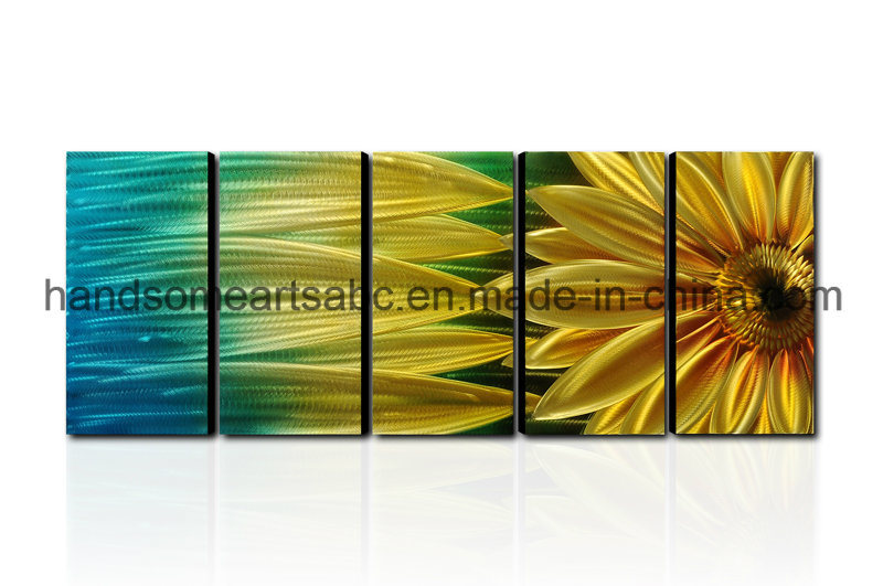Sunflower Metal Wall Art Decor Contemporary Sculpture (CHB6015053)