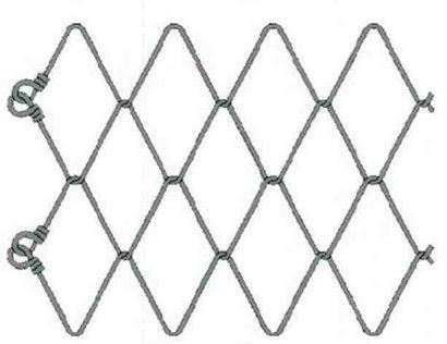 Rockfall Stabilization Mesh for Slope Protection / High Tensile Steel Wire Mesh