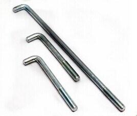L Anchor Bolt (M3-M30) Carbon Steel