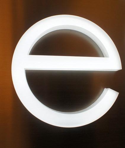 Brand Logo Metal Plastic Aluminum Architectural Signage