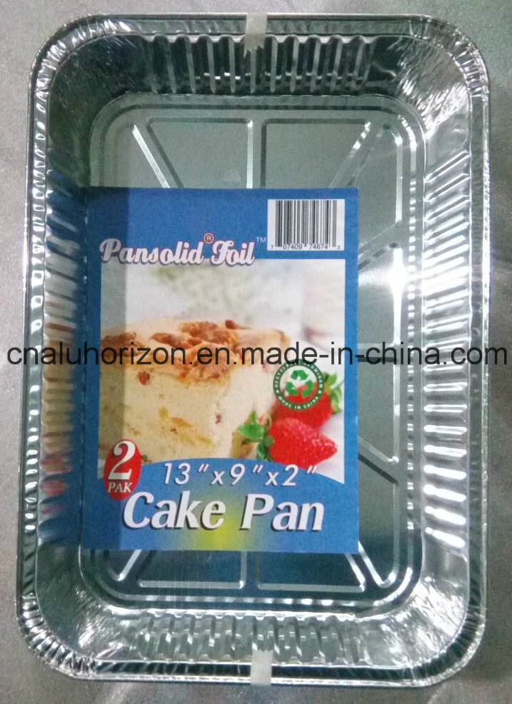 330*229mm High Quality and Oil Free Aluminum Foil Container