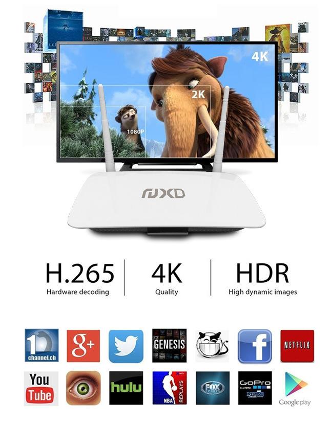 Wholesale Quad Core 1GB + 8GB Android Smart TV Set Top Box Q2