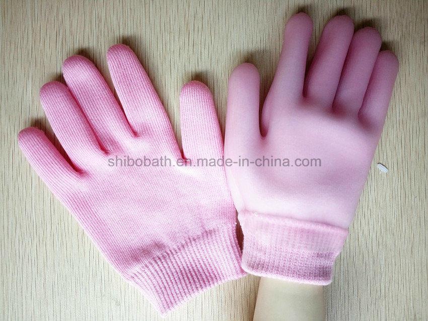 Supple Skin SPA Moisturizing Soften Beauty Cotton Gel Gloves