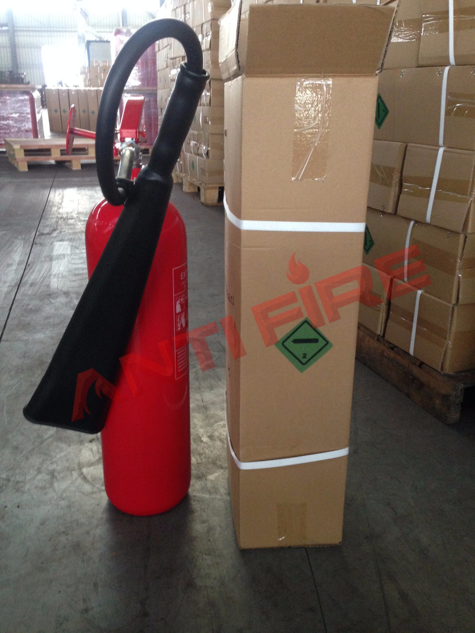 CE Approved CO2 Fire Extinguisher