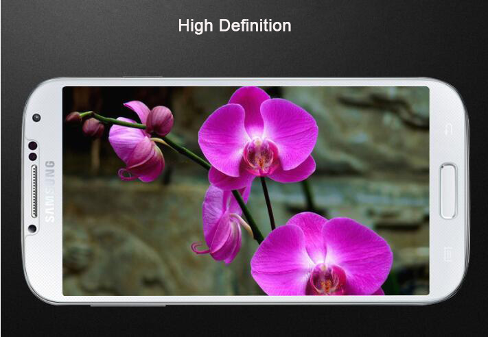 High Security Waterproof Anti-Scratch 9h Tempered Glass Screen Saver for Mobile Phone Samsung S4