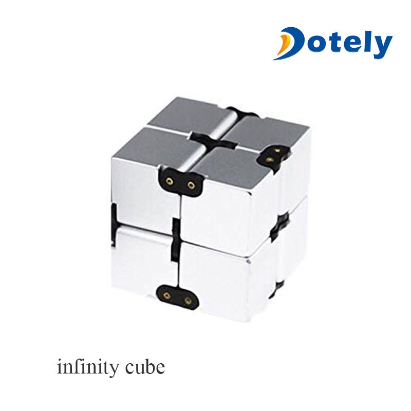 Luxury EDC Fidgeting Infinity Cube for Stress Reducer