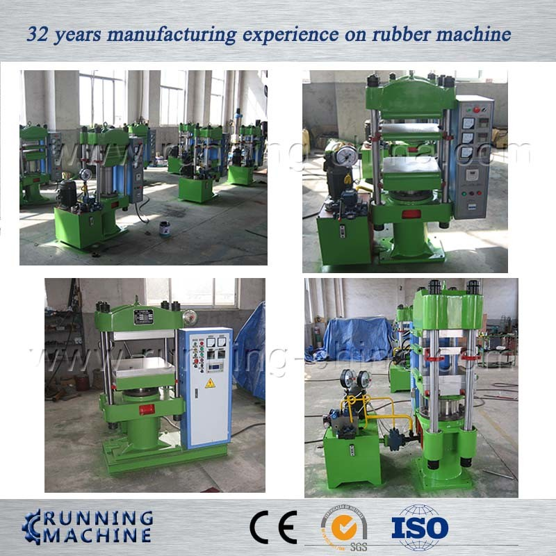 Four Coulmn Upstroke Rubber Hydraulic Press Exported to USA