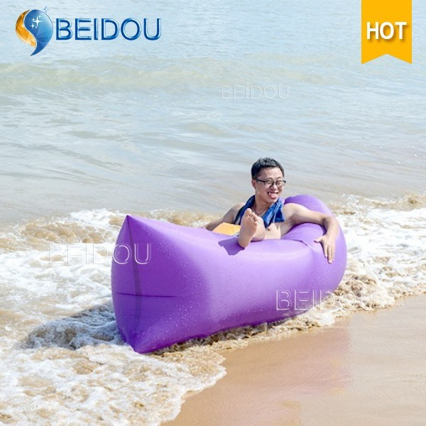 Outdoor Beach Air Sofa Chair Bed Sleep Bag Sun Inflatable Air Lounger