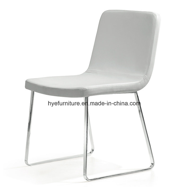 Modern Leisure Dining Furniture Leather/Fabric Dining Chair (G062)