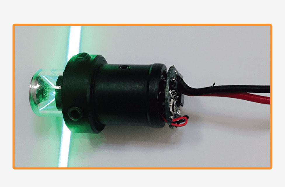 Industrial Material High Quality Red and Green Laser Modules Custermizable From Danpon Laser