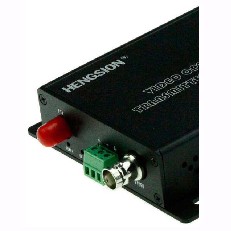 1 Channel Video & 1 Reverse RS485 Data Fiber Transmitter