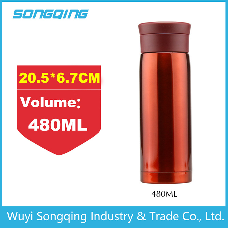 Double Wall Stainless Steel Thermos Vacuum Flask