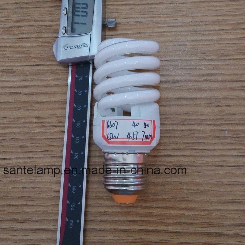 Energy-Saving Lamp 15W 18W Full Spiral Compact Bulb CFL