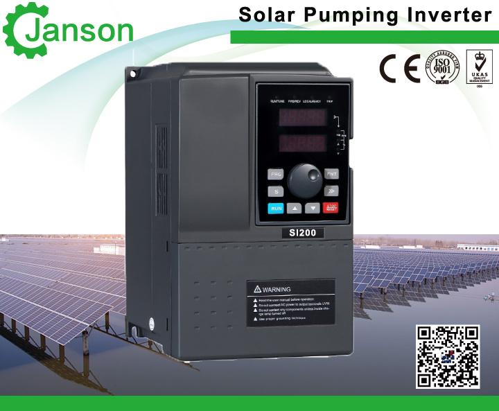 Solar Pumping System for Irrigation