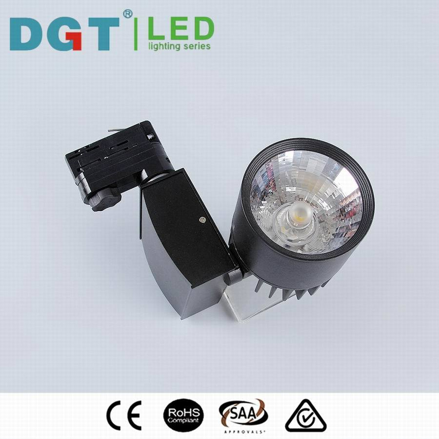 30W CRI90 COB LED Track Rail Light