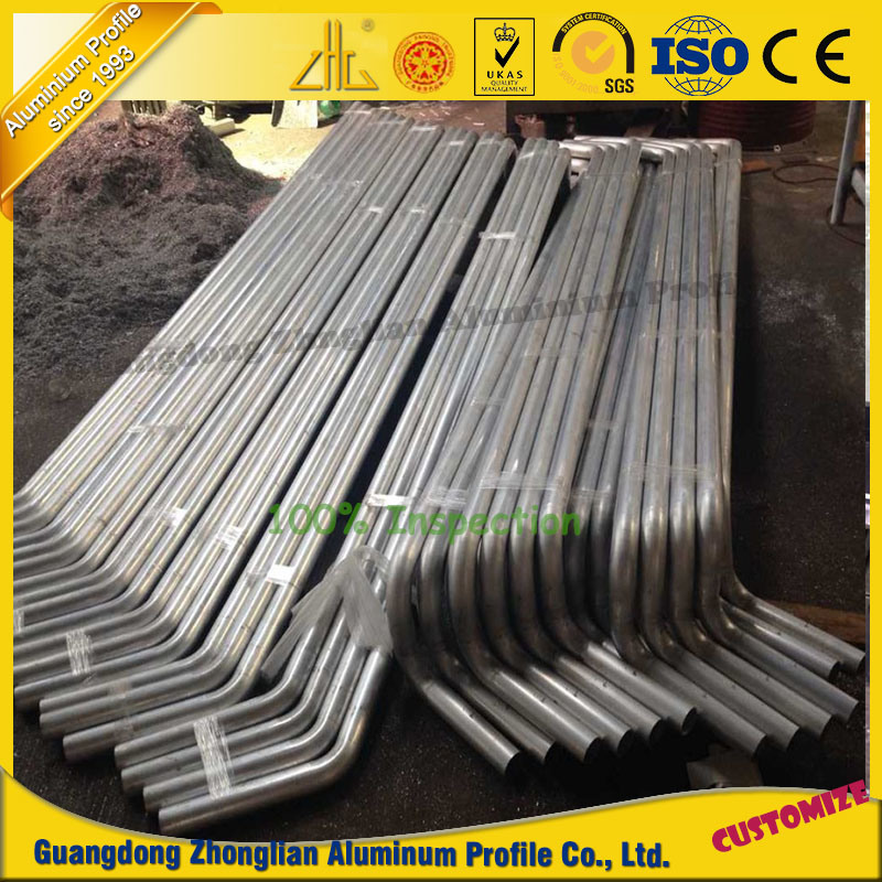 Customized Bending CNC Machined Aluminium Parts
