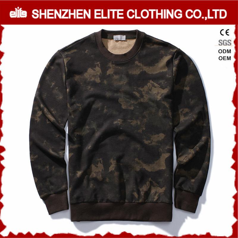 Custom Oversized Sublimation Printing Camo Sweatshirt (ELTSTJ-754)