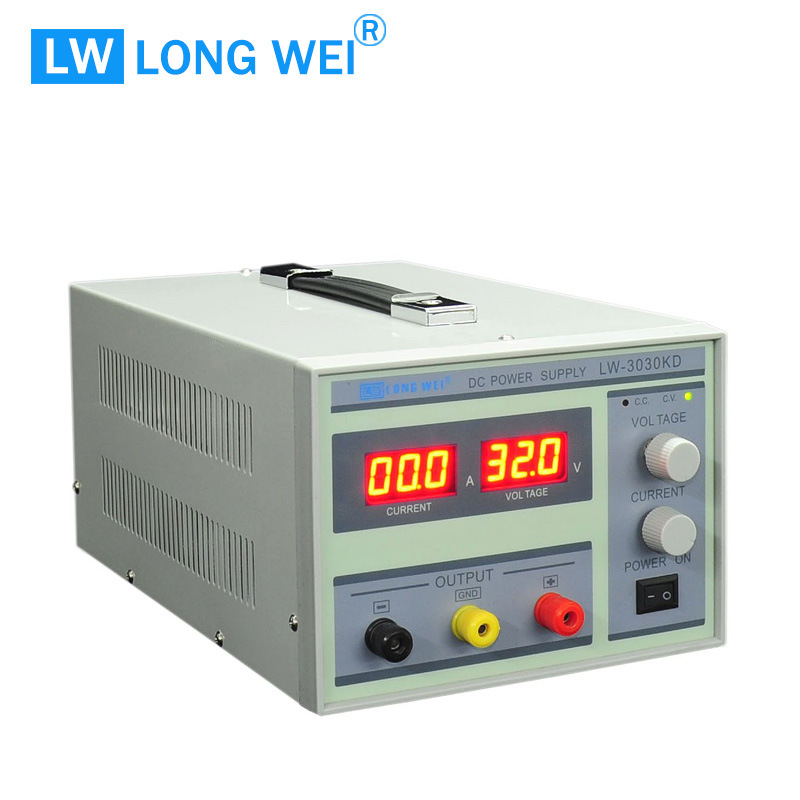 900W Lw3030kd 0-30V 0-30A Adjustable Regulated Variable Switching DC Power Supply