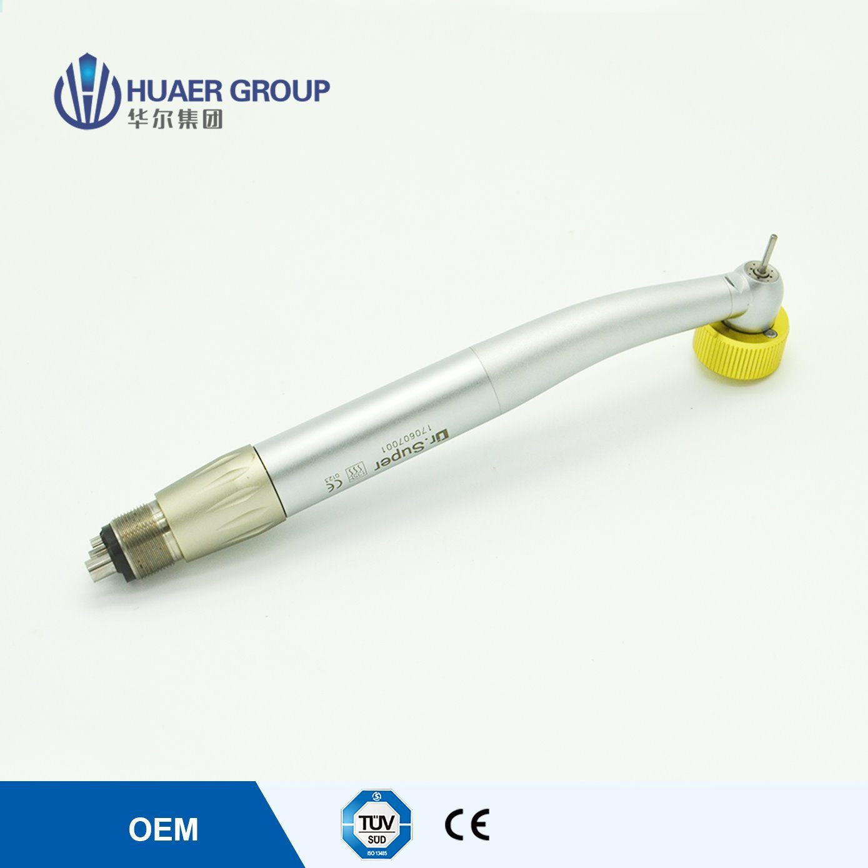 4 Spray Zero Retraction LED High Speed Dental Handpiece