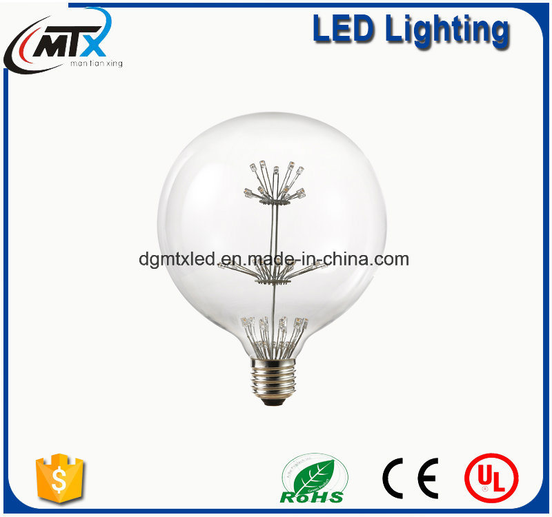 MTX G95 Diament 4W E27 220V LED Retro Lampada Bombilla Vintage Edison Lamp Bulb Light Decorative Carbon Filament Bulb