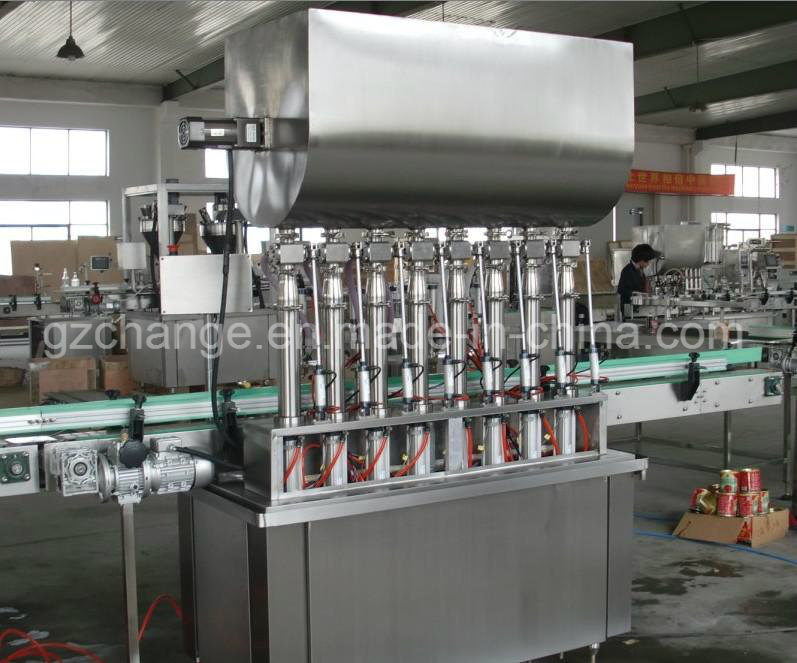 Automatic Liquid Filling Machine for Paste Shampoo Lotion Hair Conditioner