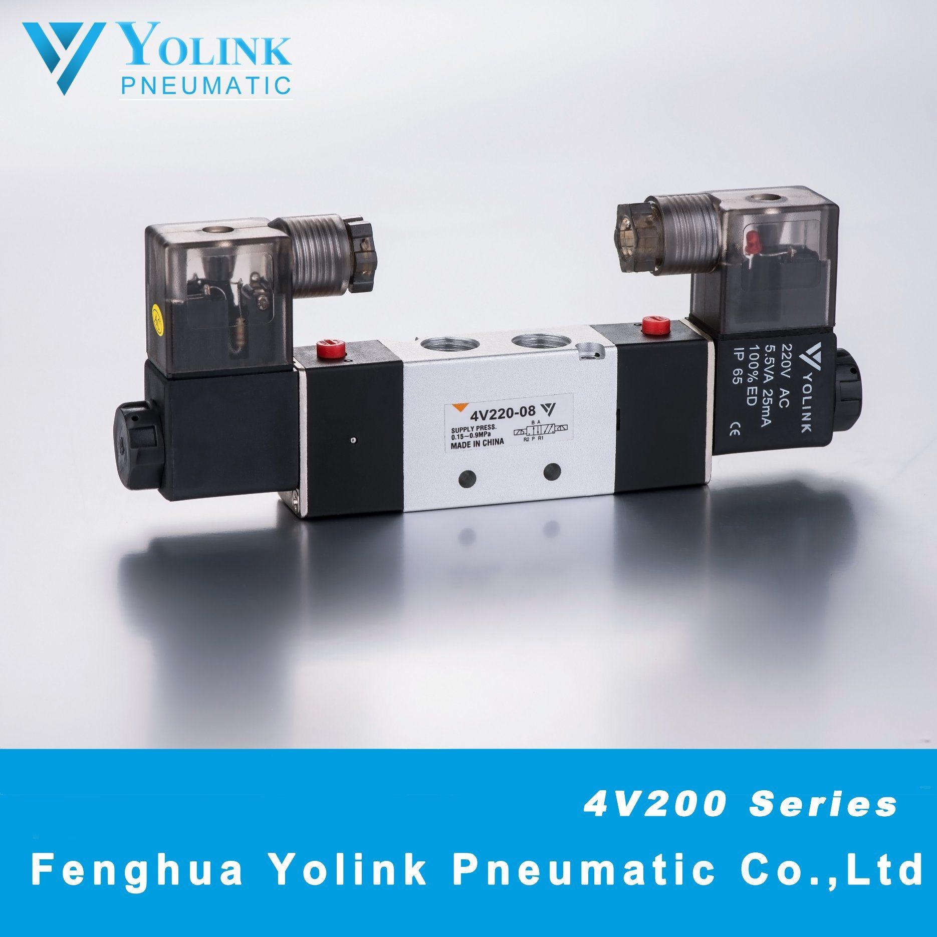 4V220 Series Pilot Operated Solenoid Valve