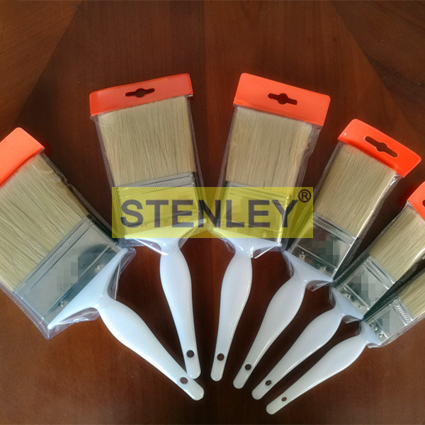 Painting Brush Paint Roller Brush with Plastic Handle Stainless Steel Casing