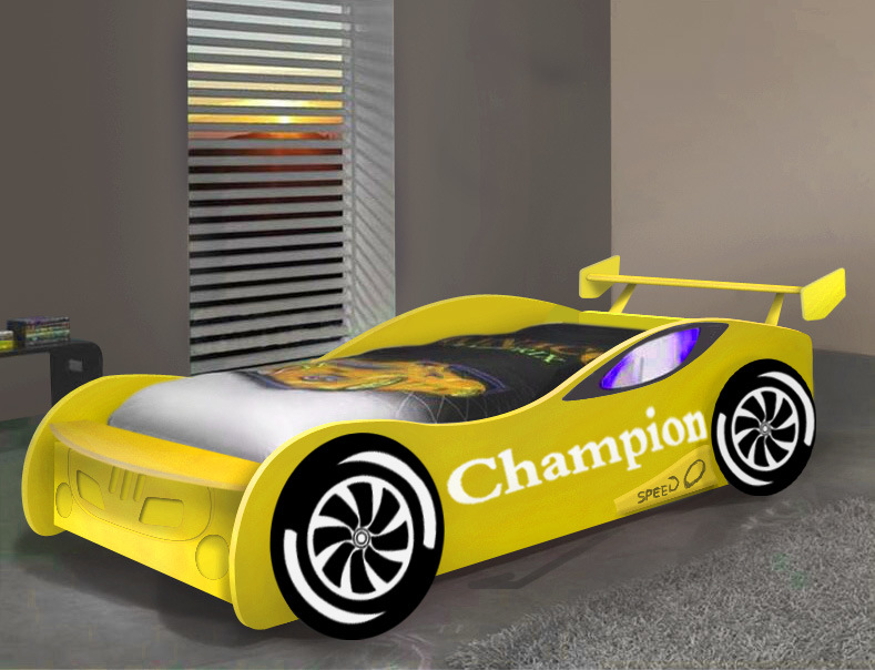 Children′s Racing Bed Children Bed Furniture