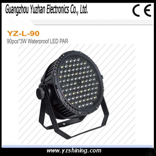 54pcsx3w RGBW Waterproof LED PAR for Stage