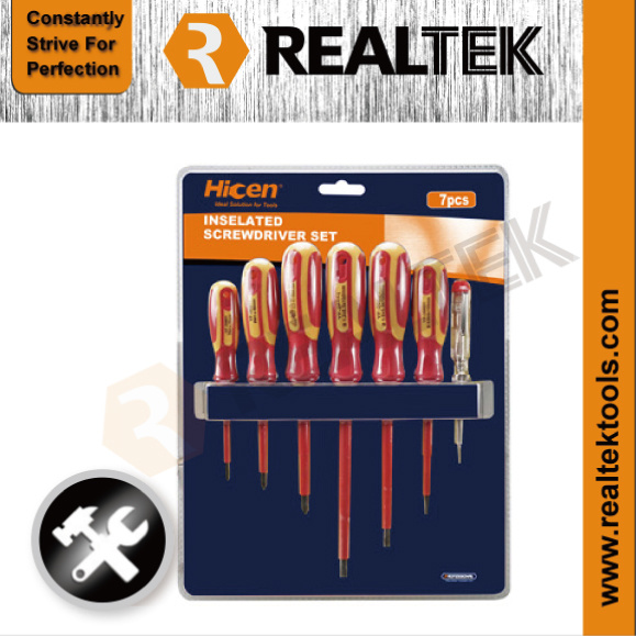 Professional 7PCS Insulation Screwdrivers Set