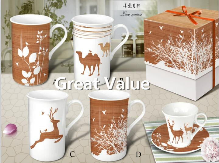 2017 New Design Ceramic Promotional Coffee Cup, Porcelain Tea Cup