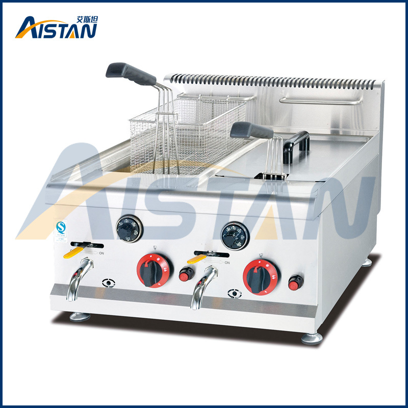 Gh585 Counter Top Gas Fryer of Catering Equipment